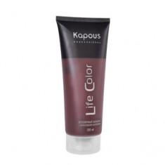 """Бальзам оттеночный """"Life Color"""" для волос, коричневый, 200 мл (Kapous Professional)"""