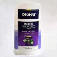 Шелковичный минеральный дезодорант, 100 г (DeoNat)
