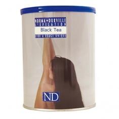 """Воск """"Черный чай"""" теплый баночный для жестких волос, 397 мл (Norma de Durville)"""