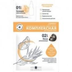 Premium HomeWork - Маска комплексная для жирной кожи с маслом чайного дерева, 1 шт Premium (Россия)