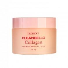увлажняющий коллагеновый крем от морщин deoproce cleanbello collagen cream