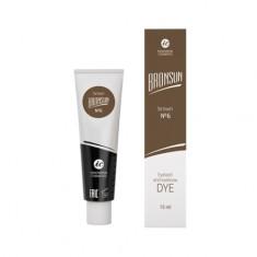 Innovator Cosmetics, Краска для ресниц и бровей Bronsun №6, коричневая, 15 мл