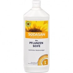 SODASAN мыло жидкое без запаха для мытья полов 1000мл