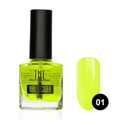 TNL, Краска Aqua Illusion №01, желтая TNL Professional