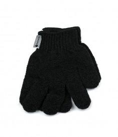 HAIRWAY Мочалка-перчатка Hairway черная 2шт/уп.