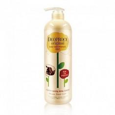 шампунь-бальзам от выпадения волос - чеснок deoproce original scalp care 2 in 1 shampoo garlic