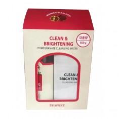 очищающая вода deoproce clean & brightening cleansing water