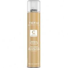 Лак-спрей для волос экстра сильной фиксации с Д-пантенолом TEFIA