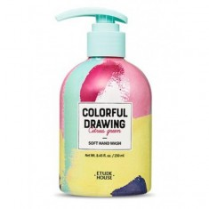 жидкое мыло для рук etude house  colorful drawing soft hand wash