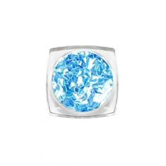 ruNail, 3D-ромбы «Голубой топаз»