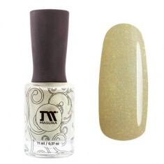 Masura, Лак для ногтей «Золотая коллекция», Лаймовый айвори, 11 мл