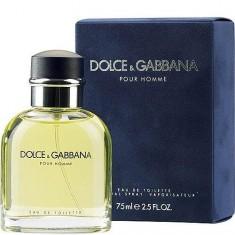 Туалетная вода D&G Pour Homme 75 мл DOLCE&GABBANA