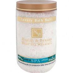 Соль для ванны HEALTH&BEAUTY
