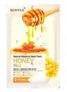 Тканевая маска с экстрактом меда EUNYUL Natural moisture mask pack royal jelly 23 мл