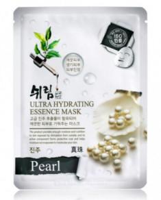 Маска тканевая с экстрактом жемчуга Shelim Ultra Hydrating Essence Mask Pearl 25 мл