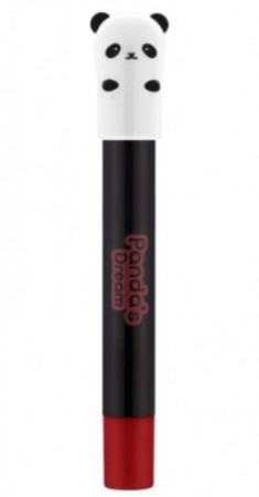 Стойкая помада-карандаш TONY MOLY Panda's dream glossy lip crayon 05 True Red