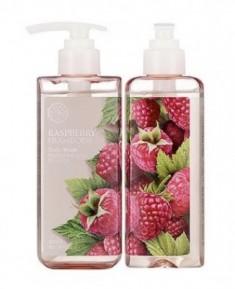 Гель для душа с малиной THE FACE SHOP Raspberry body wash 300 мл