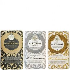 Набор мыла Luxury Gold/Platinum/Black NESTI DANTE