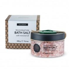 HUILARGAN Соль с маслом розового дерева для принятия ванн, омоложение 330 г