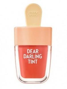 Увлажняющий гелевый тинт для губ ETUDE HOUSE Dear Darling Water Gel Tint №205 Apricot Red
