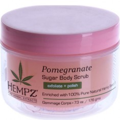 Скраб для тела Сахар и Гранат Body Scrub Sugar & Pomegranate HEMPZ
