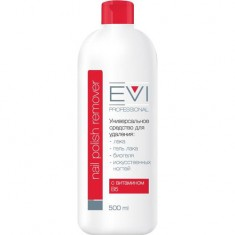 Жидкость для снятия гель-лака и шеллака EVI PROFESSIONAL