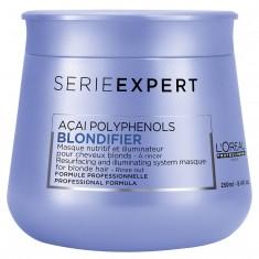 LOREAL PROFESSIONNEL Маска для сияния осветленных и мелированных волос / Blondifier 250 мл