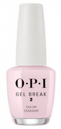 Ухаживающее покрытие с эффектом цвета OPI Gel Break Properly Pink NTR03 розовый