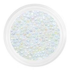 Patrisa Nail, Бульонки стеклянные мелкие 0,8 мм, прозрачная голография