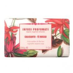 Натуральное мыло с красным чаем и чашецветником, 200 г (Iteritalia)