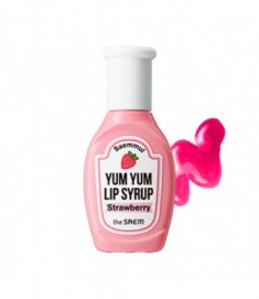 Тинт для губ увлажняющий THE SAEM Saemmul Yum Yum Lip Syrup 03 Strawberry 10гр