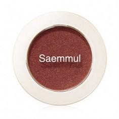 Тени для век мерцающие THE SAEM Saemmul Single Shadow (Shimmer) BR04 2гр