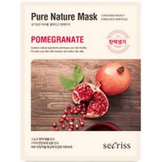 Маска для лица тканевая Anskin Secriss Pure Nature Mask Pack-Pomeganate 25мл