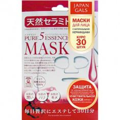 Маска с натуральными керамидами Japan Gals Pure5 Essential 30 шт
