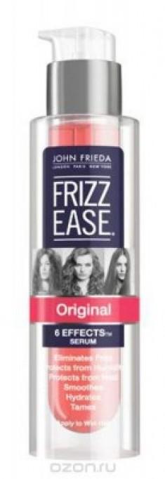 Оригинальная сыворотка 6 в 1 для непослушных волос John Frieda Frizz Ease 50 мл