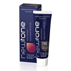 тонирующая маска для волос estel newtone 7/75 русый красно-фиолетовый 60 мл Estel Professional