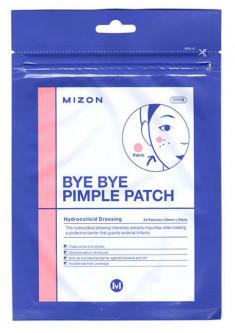 MIZON Патчи против акне / BYE BYE PIMPLE PATCH 24 шт