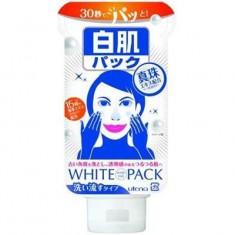 Увлажняющая кремовая маска для лица с эффектом выравнивания цвета кожи с экстрактом жемчуга и 15-ю экстрактами из традиционной восточной медицины Shirohada UTENA