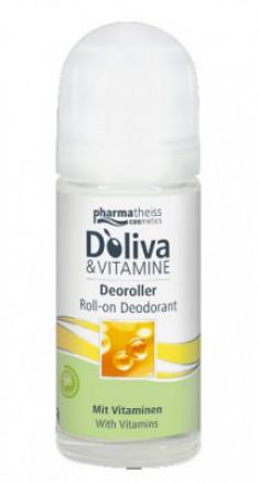 Дезодорант роликовый с Витаминами D`oliva 50 мл