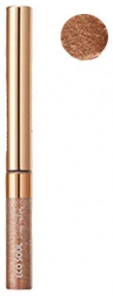 Тени для глаз сияющие THE SAEM Eco Soul Sparkling Eye BR01 Cafe Crema 2,7гр