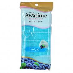 мочалка для тела жесткая ohe corporation awa time body towel katame