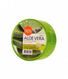 Гель для тела успокаивающий Welcos Aloe vera Moisture Real Soothing Gel 300