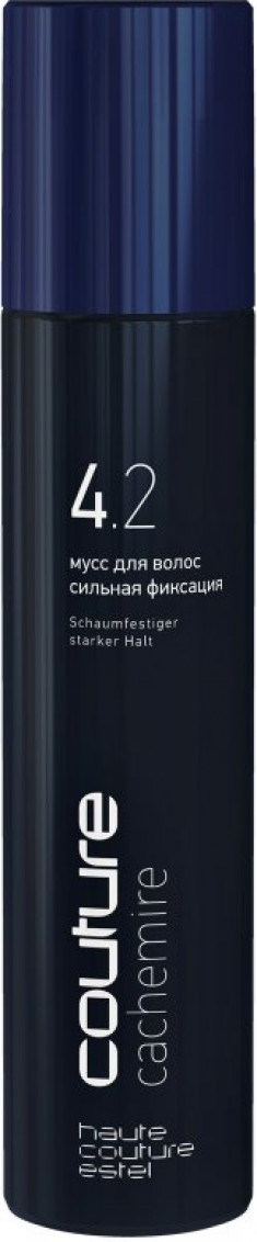 ESTEL HAUTE COUTURE Мусс для волос сильная фиксация / CACHEMIRE 300 мл