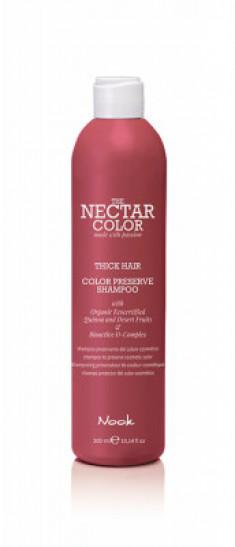 Шампунь для окрашенных плотных и жестких волос NOOK Color Preserve Shampoo 300мл