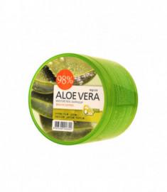 Гель для тела успокаивающий Welcos Aloe vera Moisture Real Soothing Gel 500