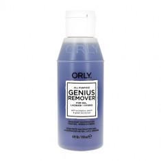 Жидкость для снятия лака, геля и блесток ORLY GENIUS REMOVER универсальная 118 мл