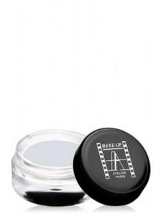 Тени для глаз кремовые Make-Up Atelier Paris ESCSW искрящийся белый
