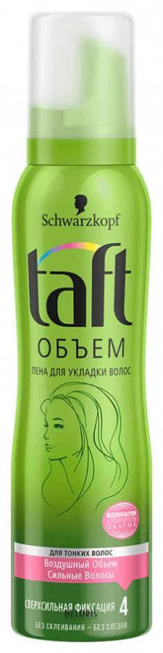 Пена для волос Taft