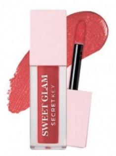 Тинт для губ вельветовый SECRET KEY Sweet Glam Velvet Tint 04 Burning Rose 5г