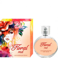 Туалетная вода для женщин Floral Red 55 мл SERGIO NERO